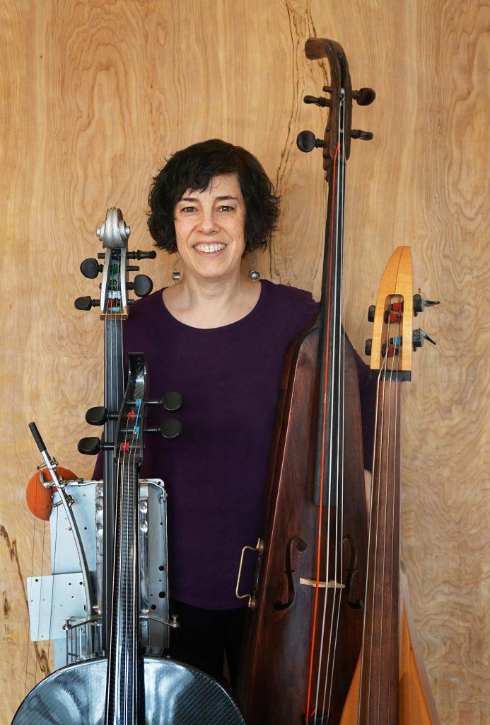 Erica Lessie with Cellos of Unusual Shape